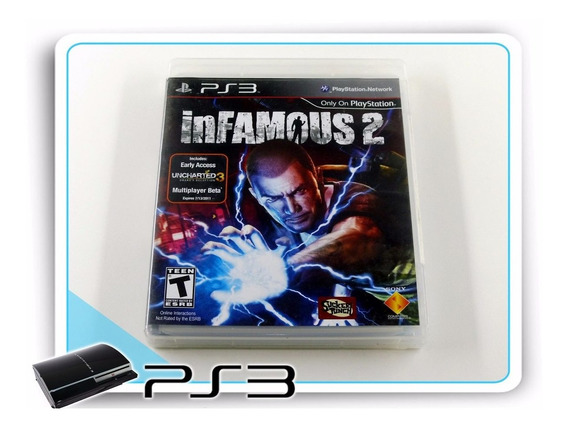 Ps3 Infamous 2 Original Playstation 3