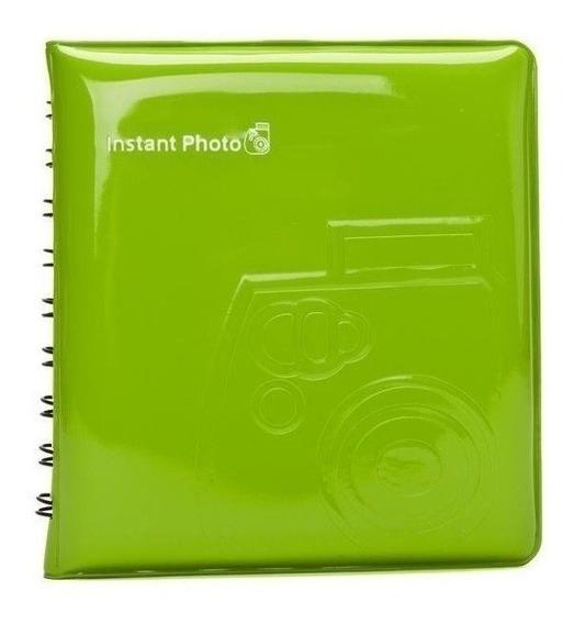 Album Para Fotos Instax Mini Fujifilm Verde Lima