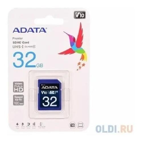 Cartão Memória Sd A-data 32gb Class 10 - Asdh32guicl10-r