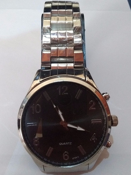 Relógio Masculino De Metal Grande M14