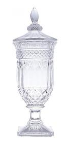 Potiche Cristal 16cmx47cm Brandon Lyor Transparente Bdwt