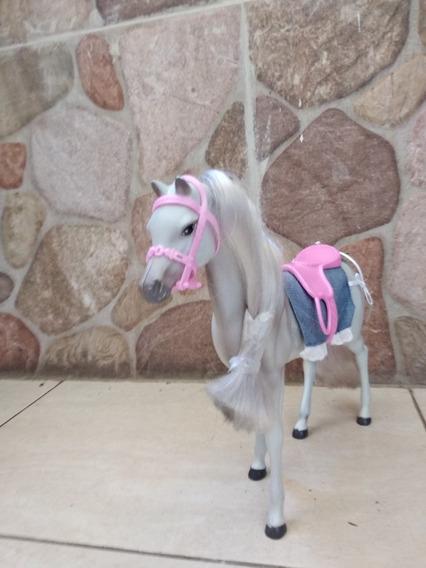 Caballo Barbie Usado Con Accesorios