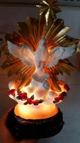 Pomba Espírito Santo Luminária