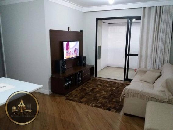 Belíssimo Apartamento No Condomínio Ettore Living - Vila Prudente - Confira! - Ap0857