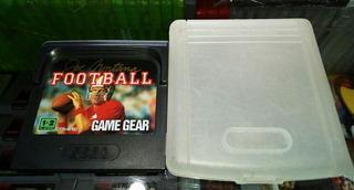 Joe Montana Football Gamegear + Cubre Polvo (hit Games Shop)