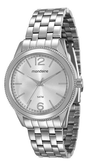 Relógio Mondaine Prateado Feminino - Original