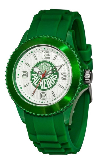 Relógio Do Palmeiras, Oficial , 1 Ano Garantia, 100m Wr , Nf
