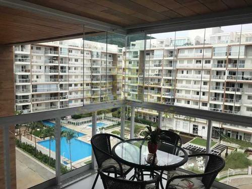 Apartamento, 2 Quartos, 1 Suite, Móveis Planejados, Varanda Gourmert, Churrasqueira - Abap20074