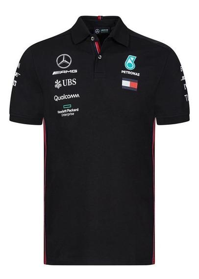 Camisa Polo Mercedes Petronas Hamilton ***colección 2019***