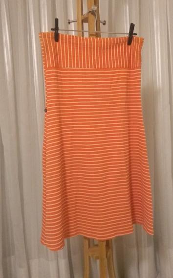 Lindo Vestido Curto Tomara Que Caia Plus Size / Tam. G (veste 46/48/50) / Cor Coral