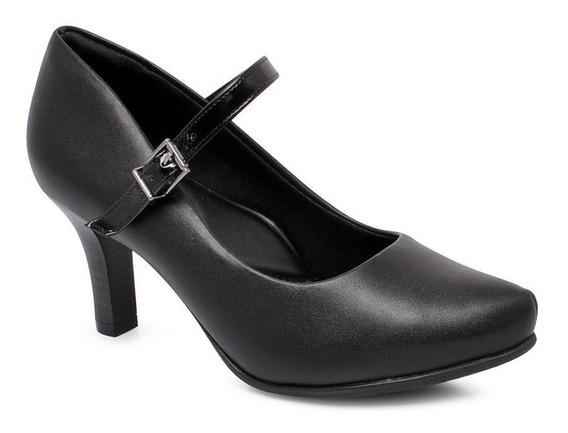 Sapato Scarpin Comfortflex 1985404 Preto