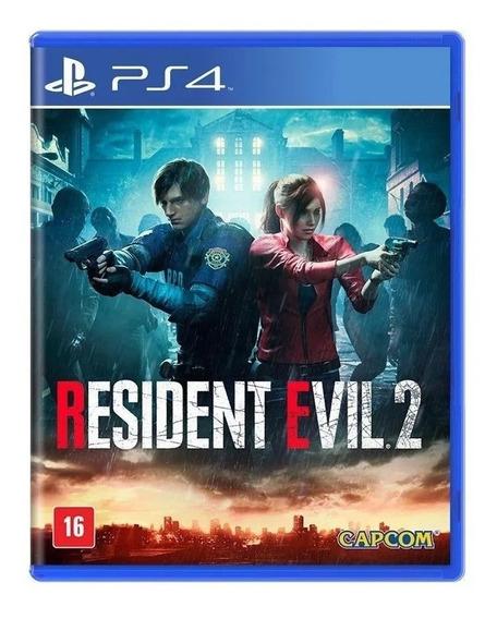 Resident Evil 2 Remake - Ps4 - Midia Física - Lacrado - Rj