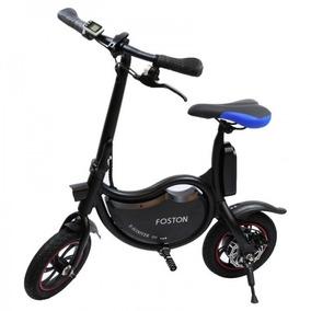 Foston Scooter Bike Fs-p12 Mini Bicicleta Elétrica Preta