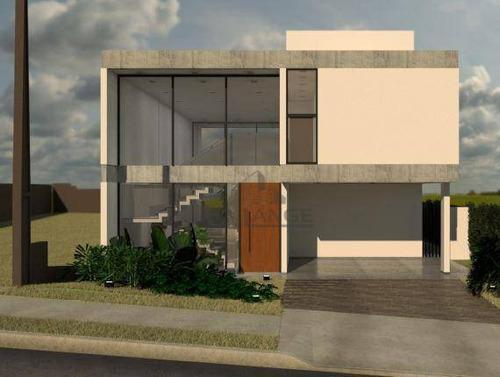Excelente Casa Em Construção À Venda No Swiss Park - Campinas/sp - Ca14728