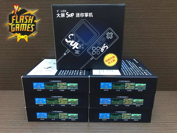 Sup Game Box 400 Jogos Do Nintendo 8 Bits, Novos Na Caixa !