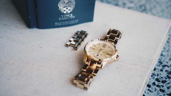 Relógio Vince Camuto E Swarovski | Original