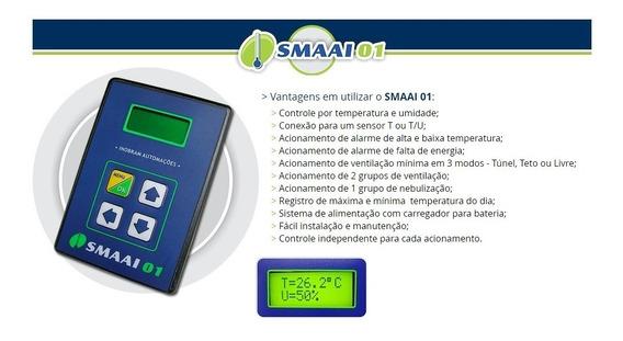 Smaai 1 Controlador Com Sonda De Temperatura, Fonte E Manual