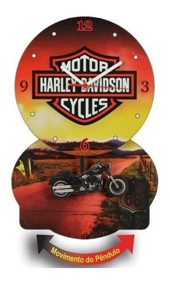 Relogio Pendulo Harley Davidson
