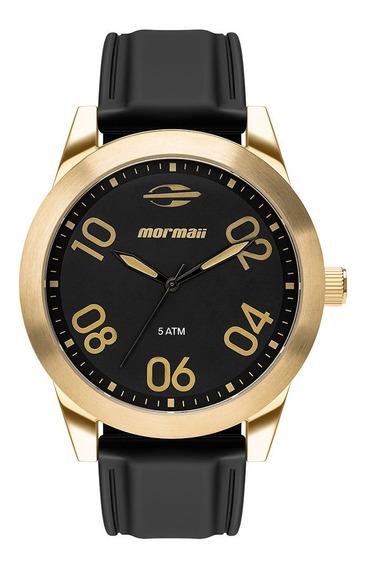 Relógio Analógico Mormaii Steel Basic Dourado Mo2035ju/8p