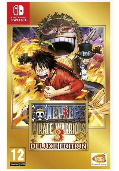 One Piece Pirate Warriors 3 Deluxe Edition Switch - Digital