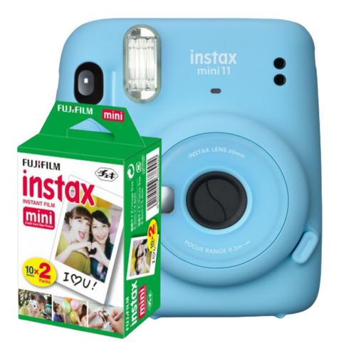Imagem 1 de 4 de Câmera Instantânea Fujifilm Instax Mini 11 + Filme 20fotos