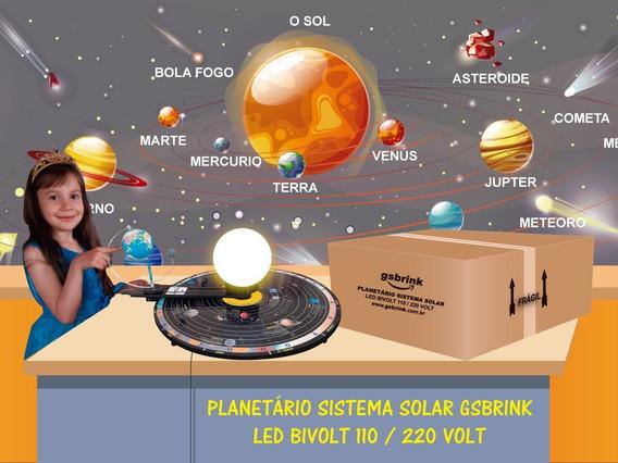 Planetário Sistema Solar Iluminado Led Bivolt Atualizado