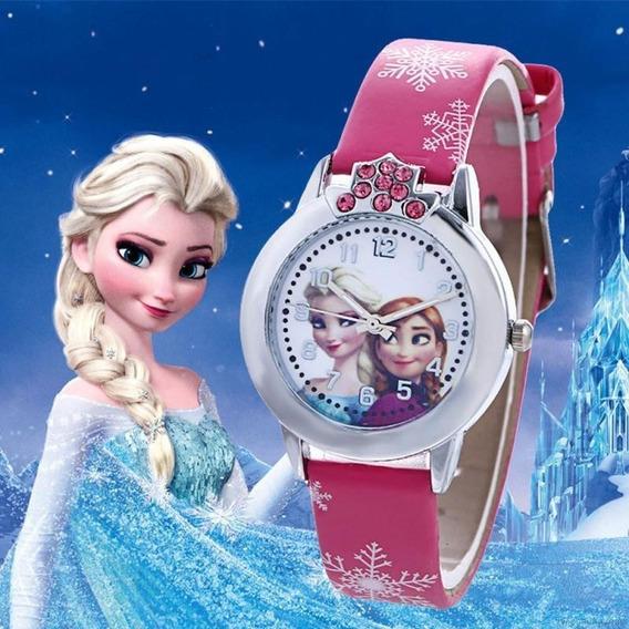 Relógio De Pulso Quartzo Infantil - Princesa Frozen