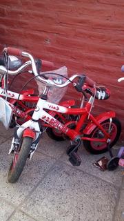 Bicicleta Rodado 12 Droopy Griboon Roja Outlet De Exposicion