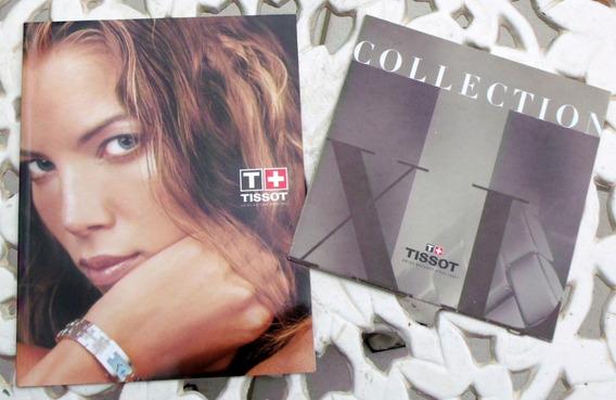 Dois Catalogos Relogios Tissot Veja Unicos No Site Veja Foto