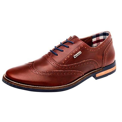 Zapato Hombre Ferrioni H07-001-01 Café 25-29 Envio Gratis
