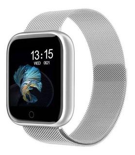 Relógio Smartwatch T80 Fitness Pressão Arterial + Pulseira