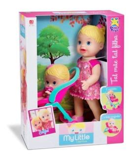 Boneca My Little Collection Tal Mãe Tal Filha 8020 - Divert