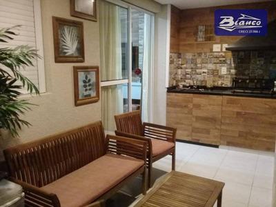 Lindo Apartamento, Condomínio Bosque Ventura, 02 Dormitórios Sendo 1 Suite!! Ao Lado Do Shopping Maia. - Ap3345