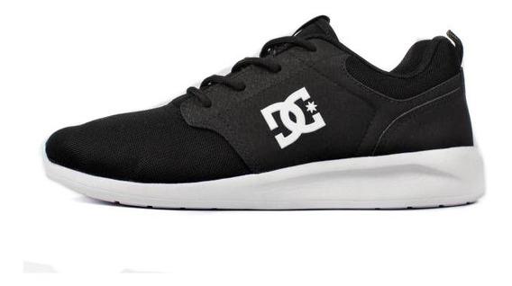 Tênis Dc Shoes Midway Sn Preto/branco