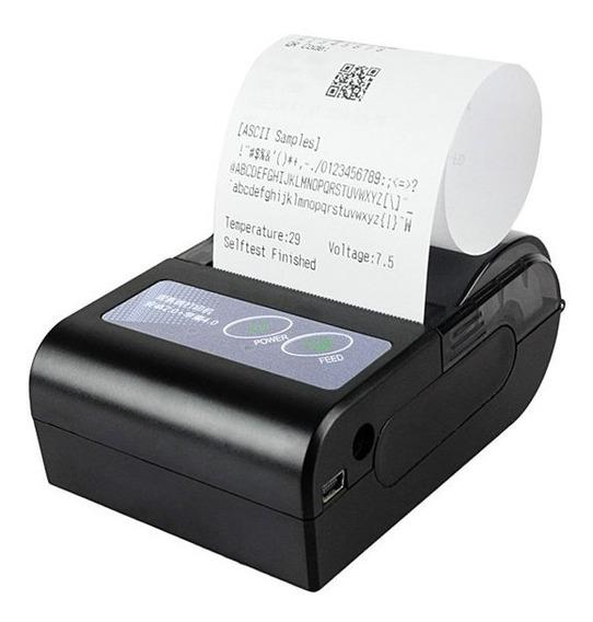 Mini Impressora Térmica Portátil Lt-668 Bluetooth Android