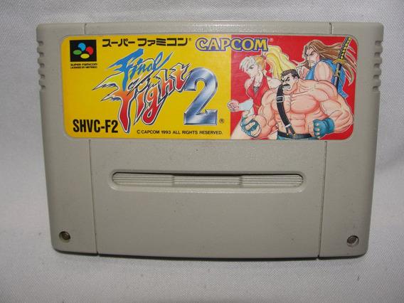Cartucho Final Fighter 2 Super Famicom Original Japão