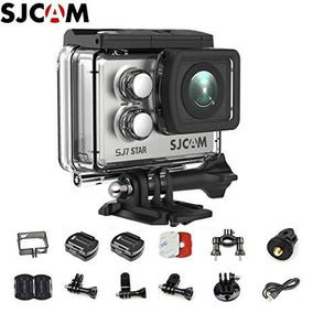 Sjcam Sj7 Star Original + Microfone +sd 32 Gb Pato Motosjr