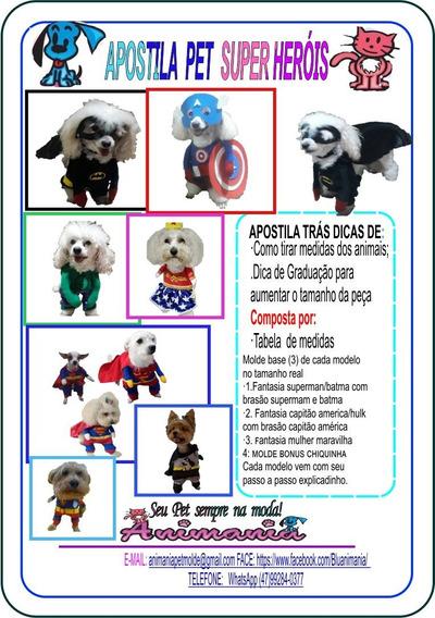 Coleção Apostila Pet Fantasias ,enviado Via Link / Via Email