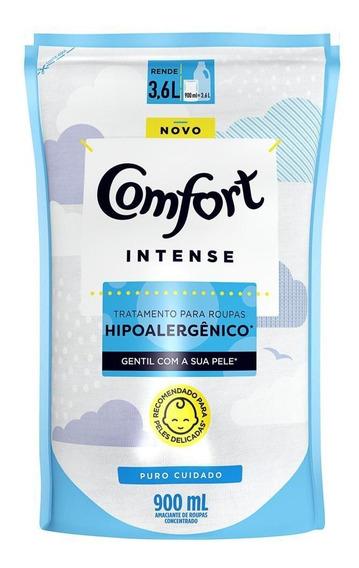 Amaciante Concentrado Comfort Puro Cuidado 900ml - Refil