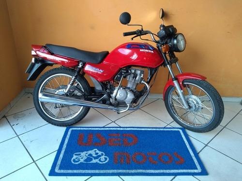 Honda Cg Titan 125 1995 Vermelha