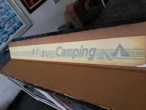 Faixa Porta Da Chevy Camping