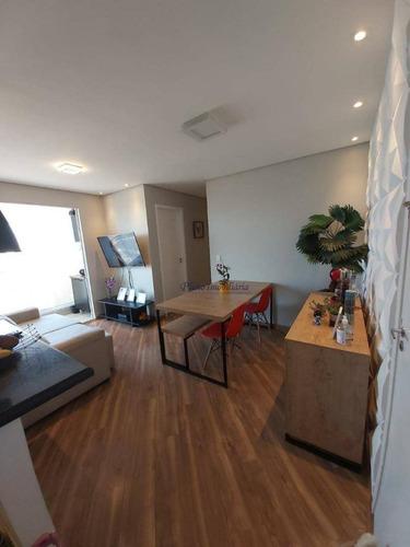 Imagem 1 de 11 de Belíssimo Apartamento Com 2 Dormitórios À Venda, 49 M² Por R$ 320.000 - Ap0916