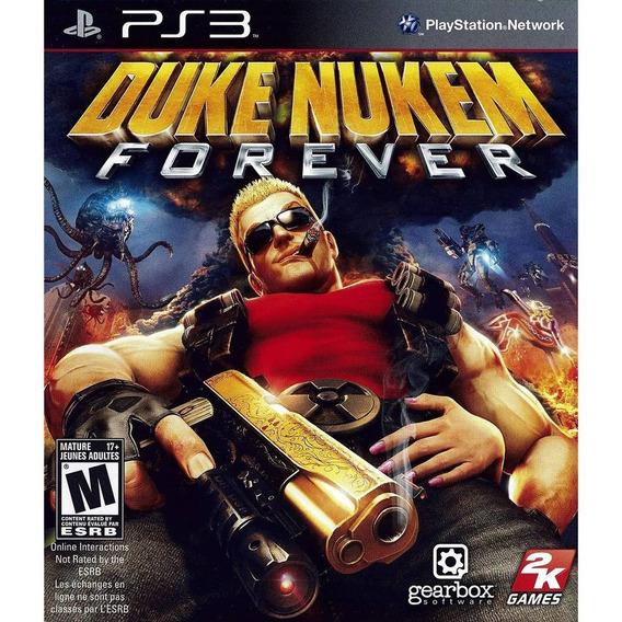 Game Duke Nukem Forever - Ps3 (novo Lacrado)