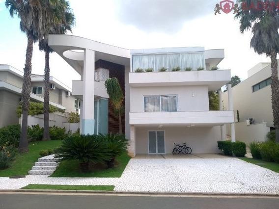 Casa Condomínio Fechado Alphaville Dom Pedro 4 Suítes - Ca01313