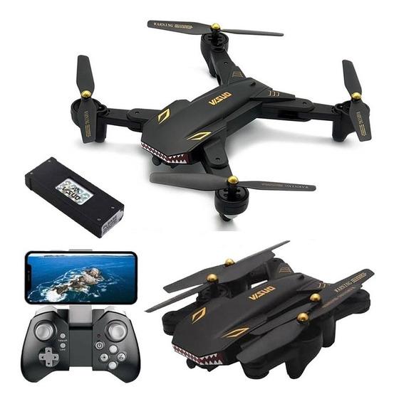 Drone Visuo Xs809s Câmera Wifi Hd 720p, Retorno - Mavic Alt.