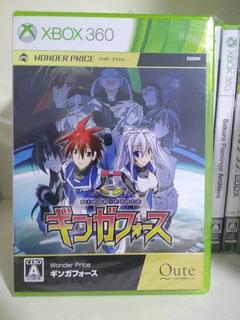 Ginga Force Lacrado Xbox 360 Shmup