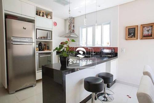 Sobrado Com 3 Dormitórios À Venda, 150 M² Por R$ 730.000,10 - Jardim Jamaica - Santo André/sp - So3372