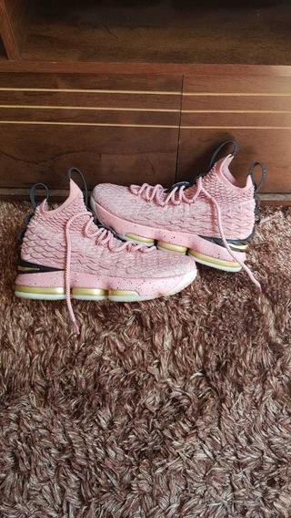Tênis Nike Original Lebron James 15 Hollywood Basquete