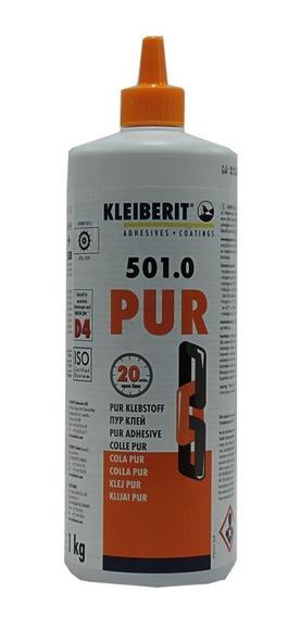 Cola Pur 501.0 Poliuretano 1kg Super Forte - Kleiberit