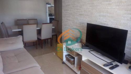Imagem 1 de 17 de Apartamento Com 3 Dormitórios À Venda, 70 M² Por R$ 320.000,00 - Cambuci - São Paulo/sp - Ap1897